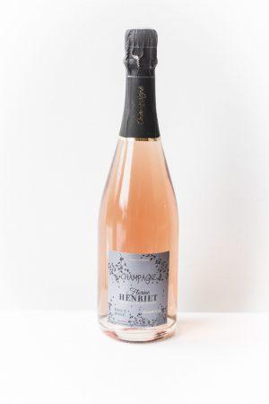 Champagne brut rosé Florine Henriet