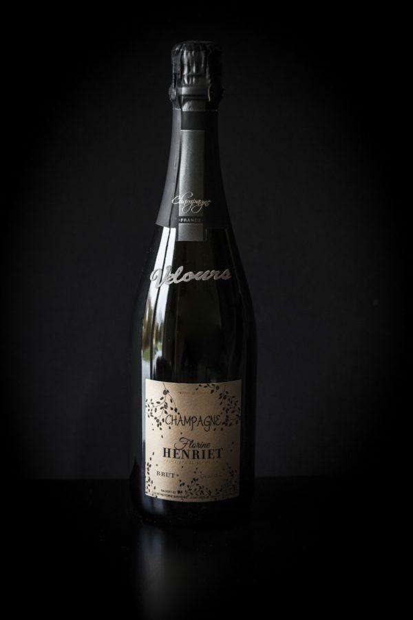 Champagne brut velours Maison Florine Henriet