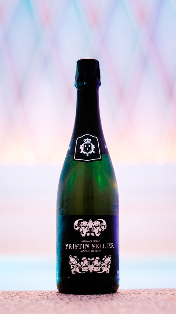 Cuvée Pristin Sellier Blanc bouteille 75cl perlée